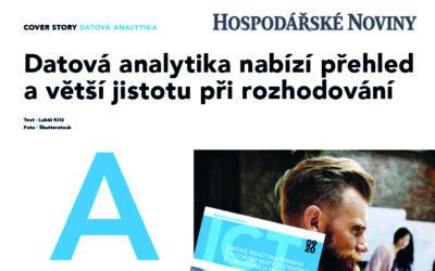 [ICT revue – příloha HN] Datová analytika nabízí přehled a větší jistotu při rozhodování